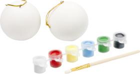 Relatiegeschenk X-mas ballen paint