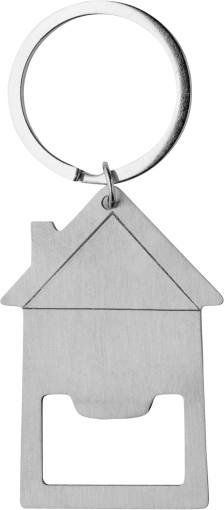 Relatiegeschenk Sleutelhanger/opener Home bedrukken