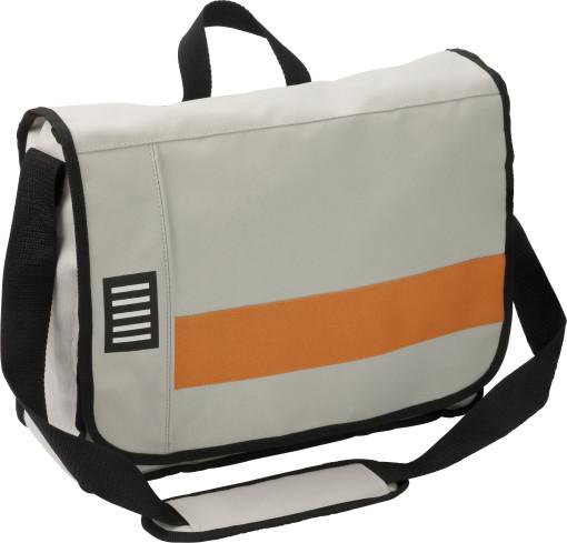 Relatiegeschenk Postmanbag Code bedrukken