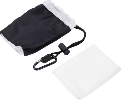 Relatiegeschenk Microfiber sporthanddoek Small bedrukken