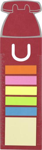 Relatiegeschenk Boekenlegger Telefoon met stickynotes bedrukken