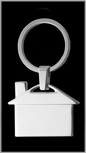Relatiegeschenk Sleutelhanger Home bedrukken