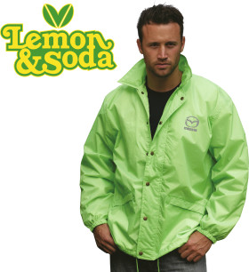 Relatiegeschenk Lemon & Soda coach jacket