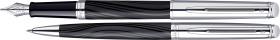 Relatiegeschenk Waterman Hémisphère Deluxe Silky Black CT Schrijfset