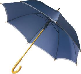Relatiegeschenk Paraplu met zilverkleurige band