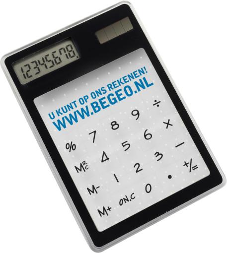 Relatiegeschenk Calculator Touch bedrukken