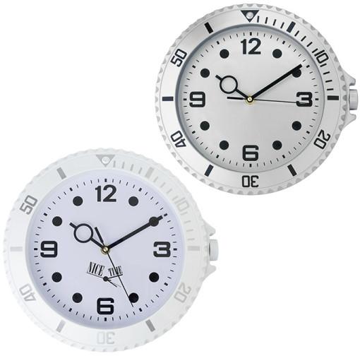 Relatiegeschenk Wandklok Watch bedrukken