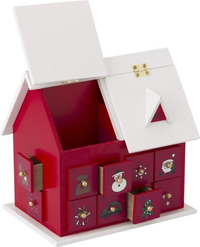 Relatiegeschenk Adventshuis Kerst bedrukken