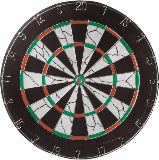 Relatiegeschenk Traditioneel dartbord Bulls Eye