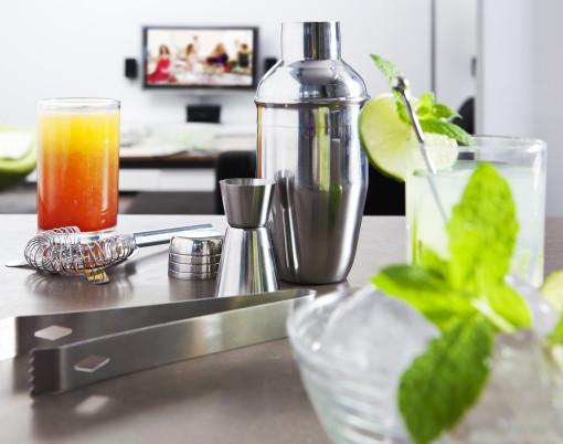 Relatiegeschenk Cocktailset Jakarta bedrukken