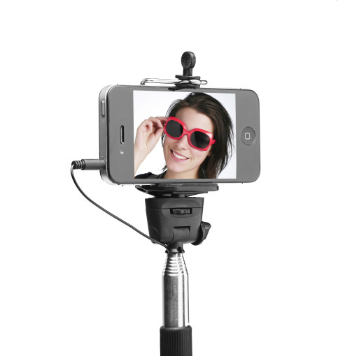 Relatiegeschenk Selfie Stick bedrukken