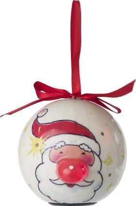 Relatiegeschenk Kerstbal met LED