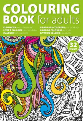 Relatiegeschenk Kleurboek voor volwassenen