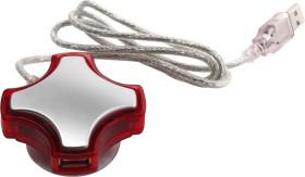 Relatiegeschenk USB hub Quatro