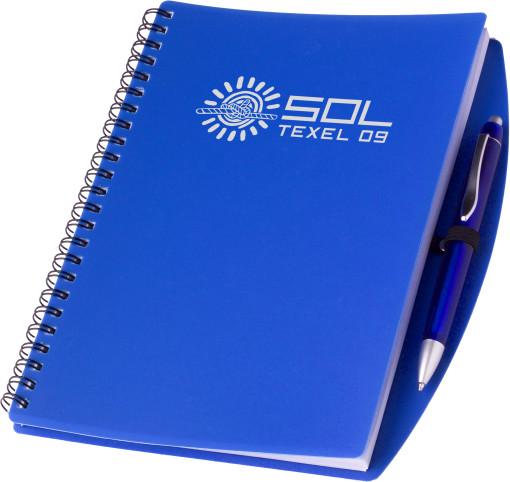 Relatiegeschenk Notitieboek Bright Medium bedrukken