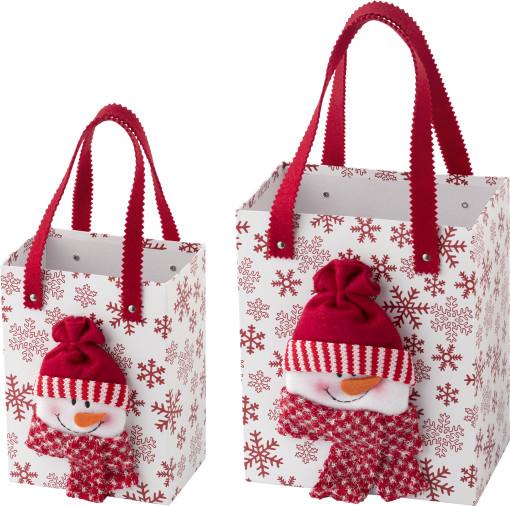 Relatiegeschenk Kerst Geschenkdoos, set van 2 bedrukken