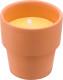 Relatiegeschenk Citronella kaars Clay bedrukken