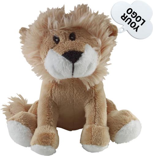 Relatiegeschenk Pluche leeuw bedrukken