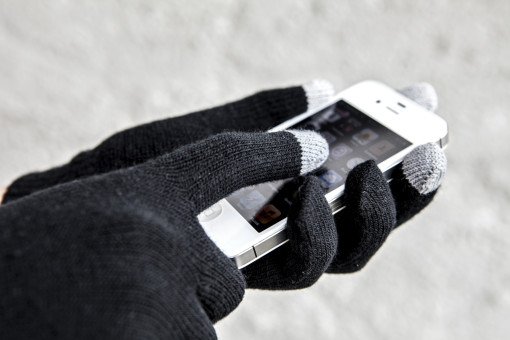 Relatiegeschenk Handschoenenset Smart bedrukken