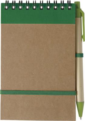 Relatiegeschenk Promo notitieboekje Recycle
