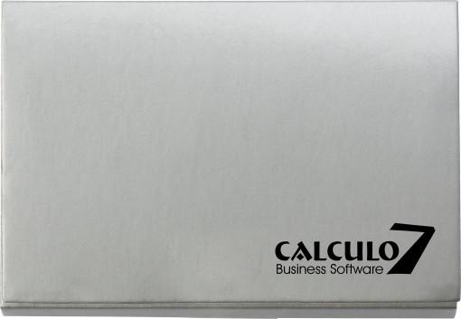Relatiegeschenk Memoboekje met calculator bedrukken