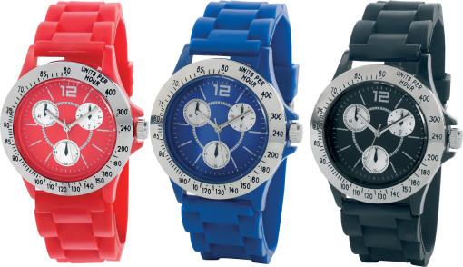 Relatiegeschenk Horloge Ketch bedrukken