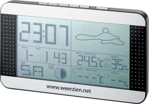Relatiegeschenk Multifunctioneel weerstation Weatherex bedrukken