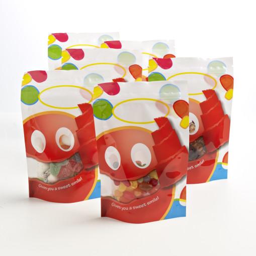 Relatiegeschenk Snoepzak Candy bedrukken