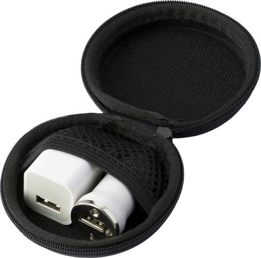 Relatiegeschenk USB Reisset bedrukken