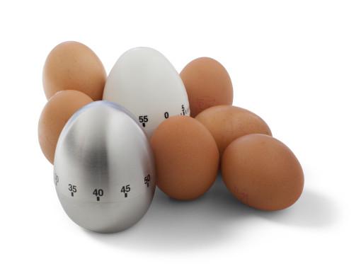 Relatiegeschenk Kookwekker Egg bedrukken