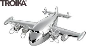 Relatiegeschenk Troika presse-papier vliegtuig