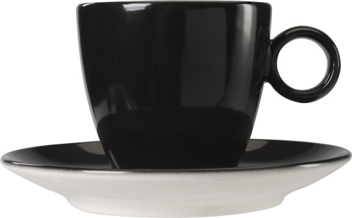Relatiegeschenk Cappuccino kop en schotel Bart