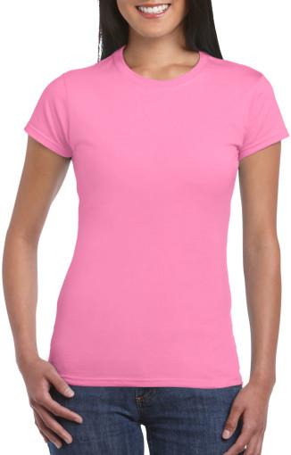 Relatiegeschenk Gildan Soft Style T-shirt Dames bedrukken