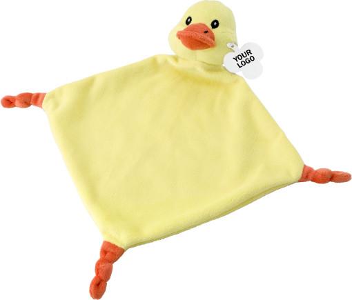Relatiegeschenk Knuffeldoekje Baby bedrukken