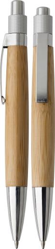 Relatiegeschenk Bamboe pen bedrukken