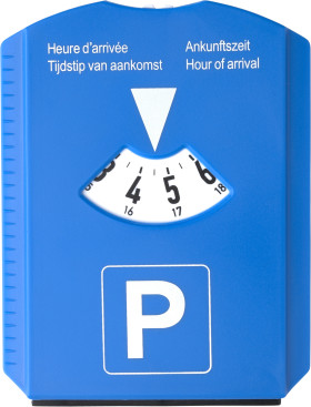 Relatiegeschenk Parkeerschijf/ijskrabber