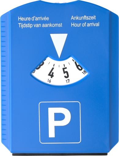 Relatiegeschenk Parkeerschijf/ijskrabber bedrukken