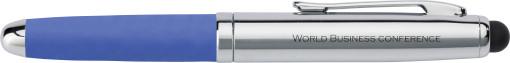 Relatiegeschenk Stylus pen Bullet bedrukken