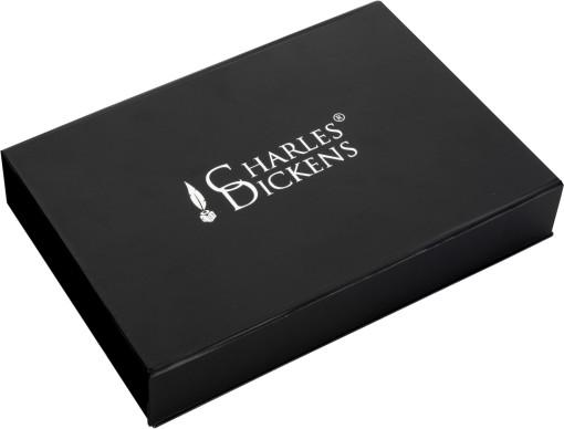 Relatiegeschenk Charles Dickens giftset bedrukken
