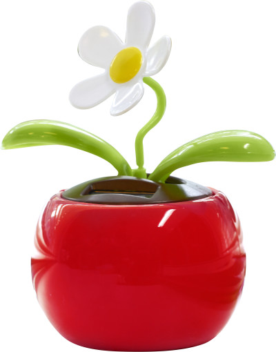 Relatiegeschenk Solar bloem bedrukken