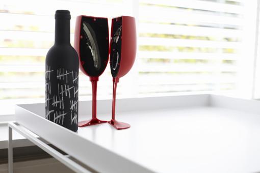Relatiegeschenk Wijnset Bottle bedrukken