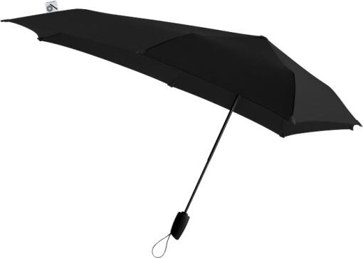 Relatiegeschenk senz° automatic stormparaplu Limited Edition Black bedrukken