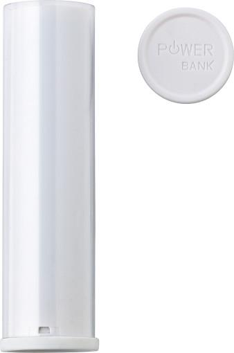 Relatiegeschenk Powerbank Cilinder bedrukken