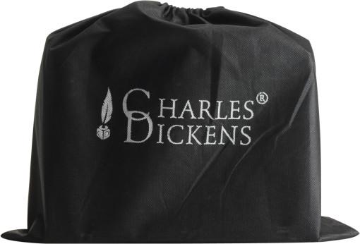 Relatiegeschenk Charles Dickens laptoptas bedrukken
