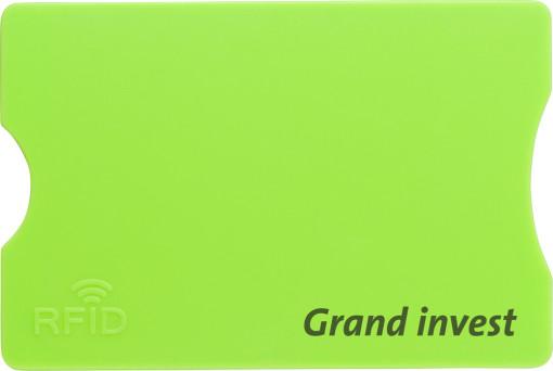 Relatiegeschenk Kaarthouder RFID bedrukken