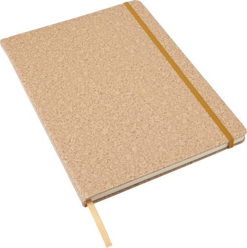 Relatiegeschenk Notitieboek Kurkprint A4 bedrukken