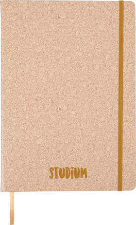 Relatiegeschenk Notitieboek Kurkprint A4