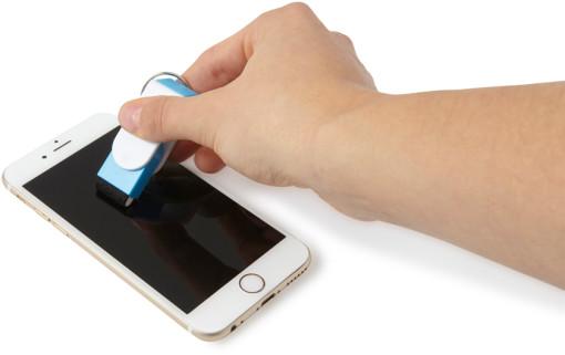 Relatiegeschenk Sleutelhanger Mobile bedrukken