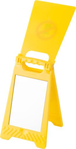 Relatiegeschenk Waarschuwingsbord Mobile bedrukken