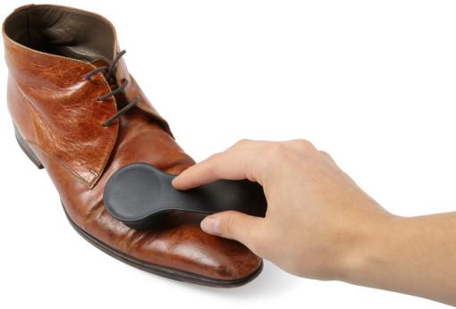 Relatiegeschenk Schoenpoets met schoenlepel bedrukken